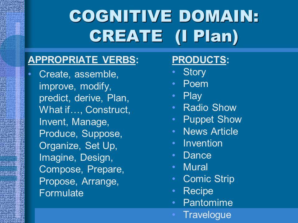 Bloom\u0027s Taxonomy of Cognitive Development - ppt video online download