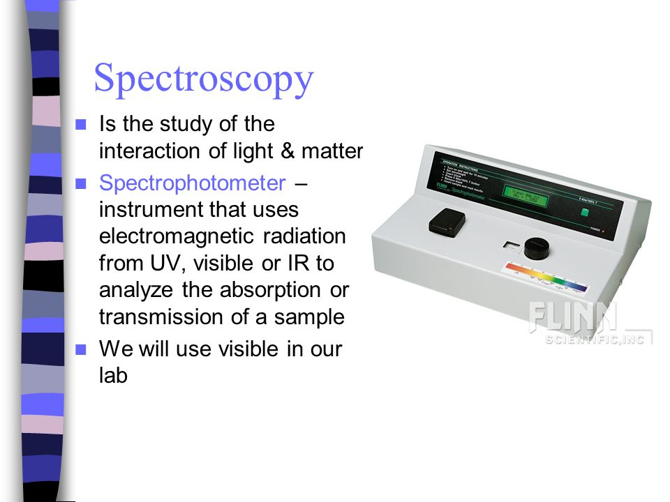 Introduction to Spectrophotometry - ppt video online download
