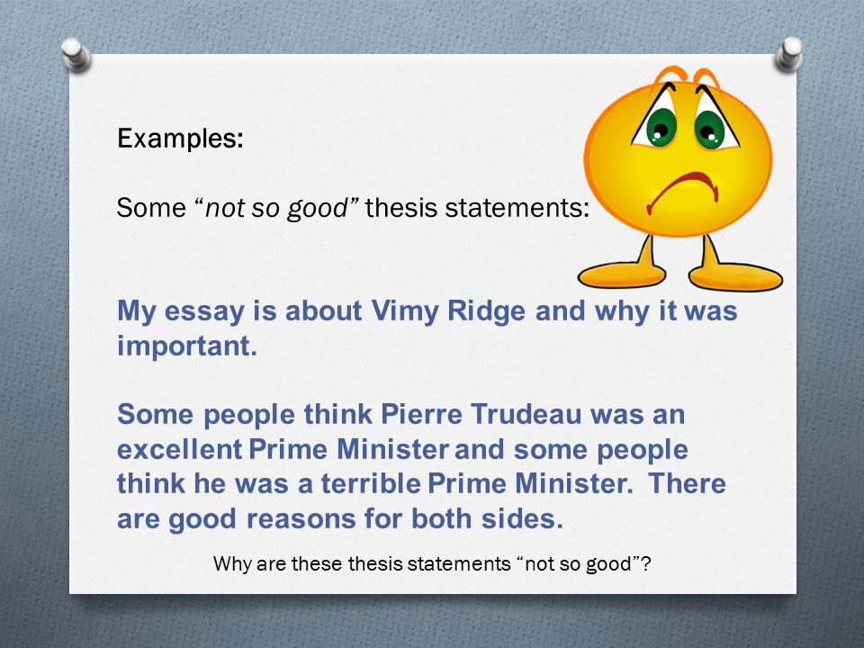 Topic + Opinion \u003d Thesis Statement - ppt video online download