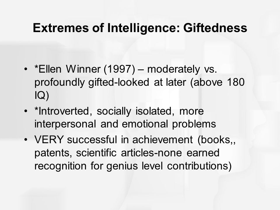 What Iq Range Is Gifted - Gift Ideas