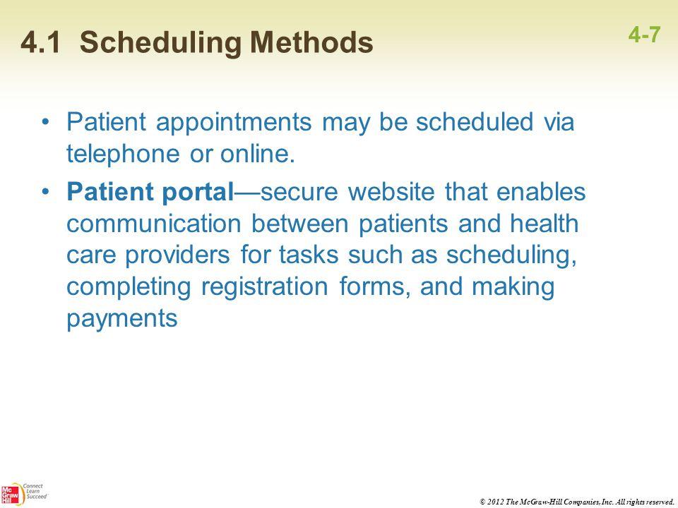 4 Scheduling - ppt video online download - making schedules online