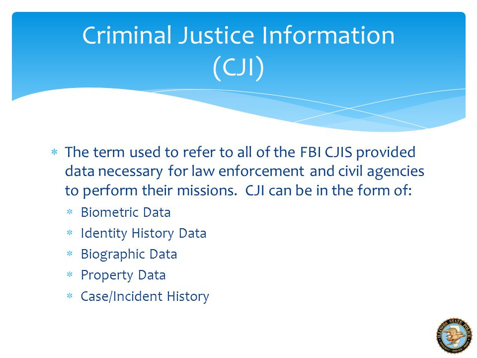 CJIS Security Policy - ppt video online download