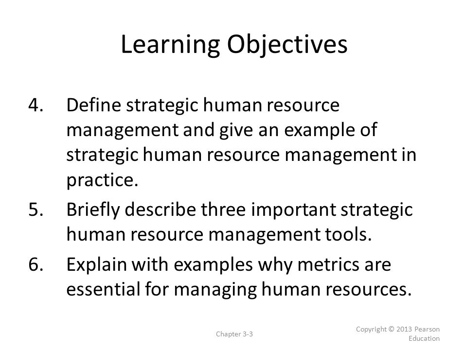 Human Resource Management Strategy and Analysis - ppt video online