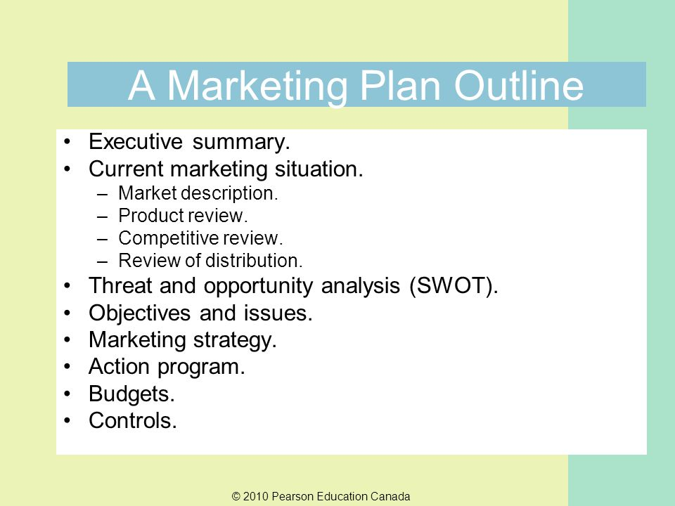 marketing strategy outline - Pinarkubkireklamowe