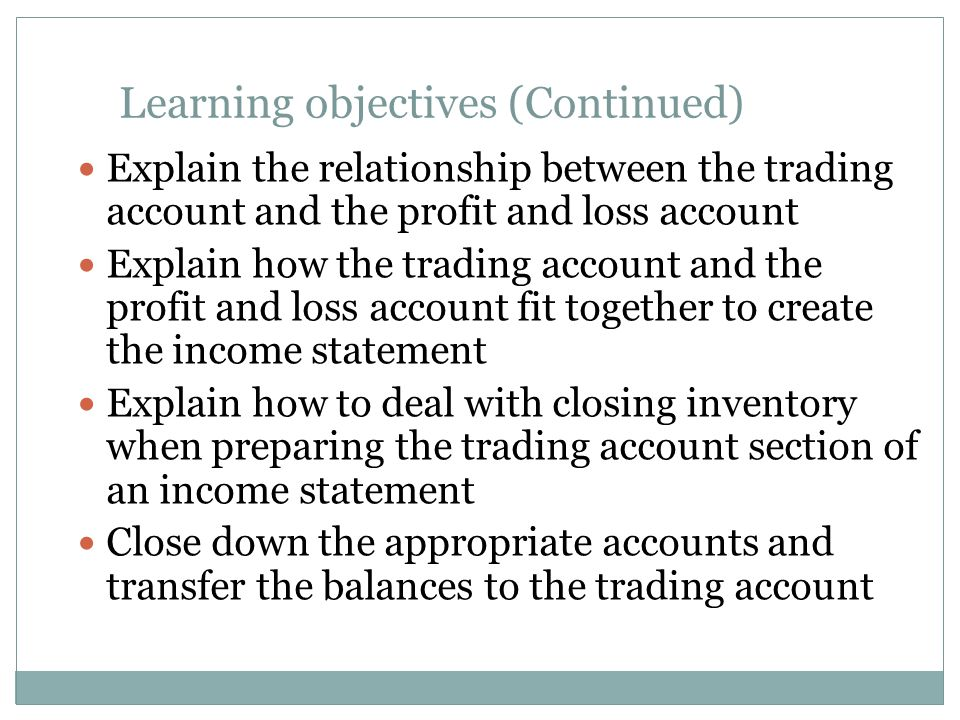 Chapter 7 Income statements an introduction - ppt download