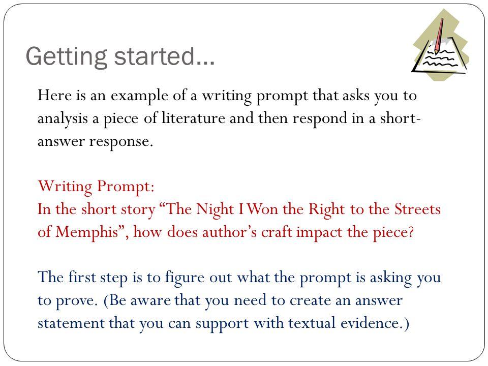 Analysis Writing (SAR) - ppt video online download