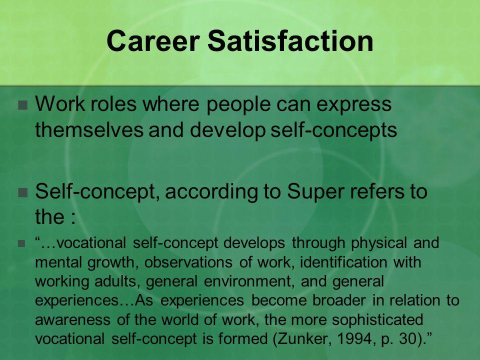 Donald Super\u0027s Stages of Career Development - ppt video online download