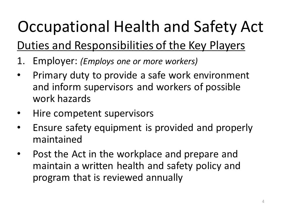 Health and safety in the workplace 3 essay Coursework Academic