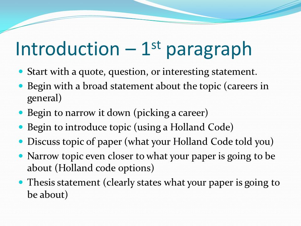 Writing an Essay Career Fair Paper - ppt video online download