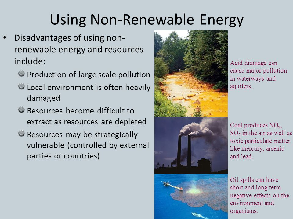 Energy Resources Renewable Nonrenewable Ppt Download