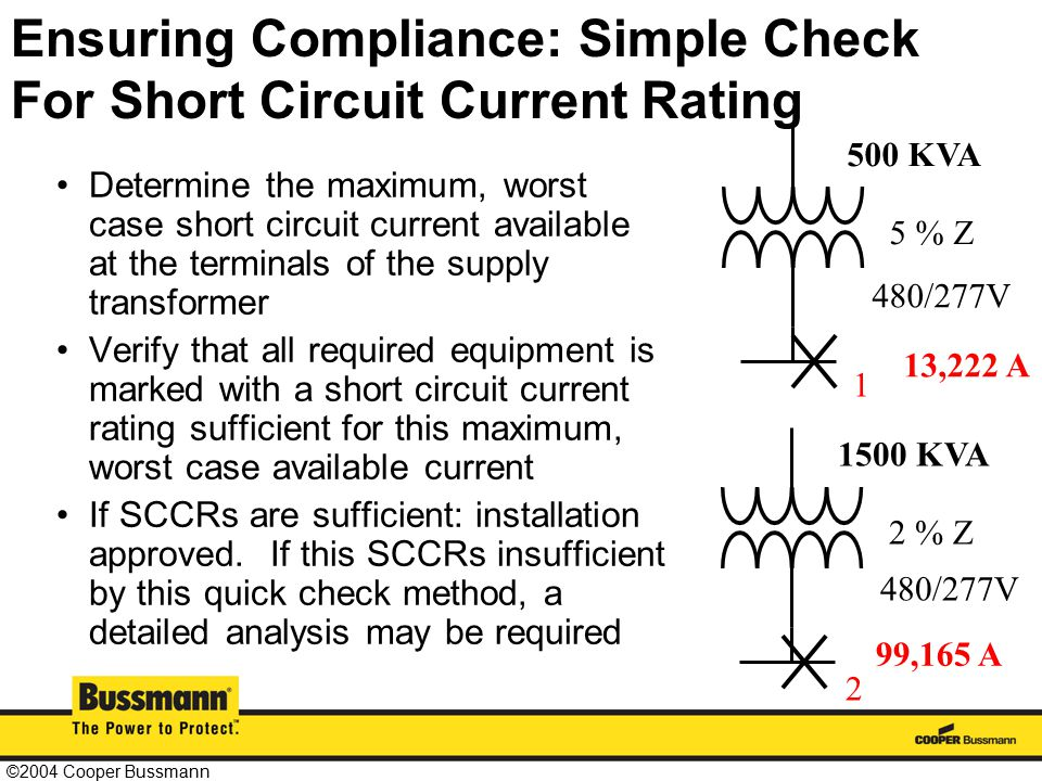 electrical plan review cooper bussmann