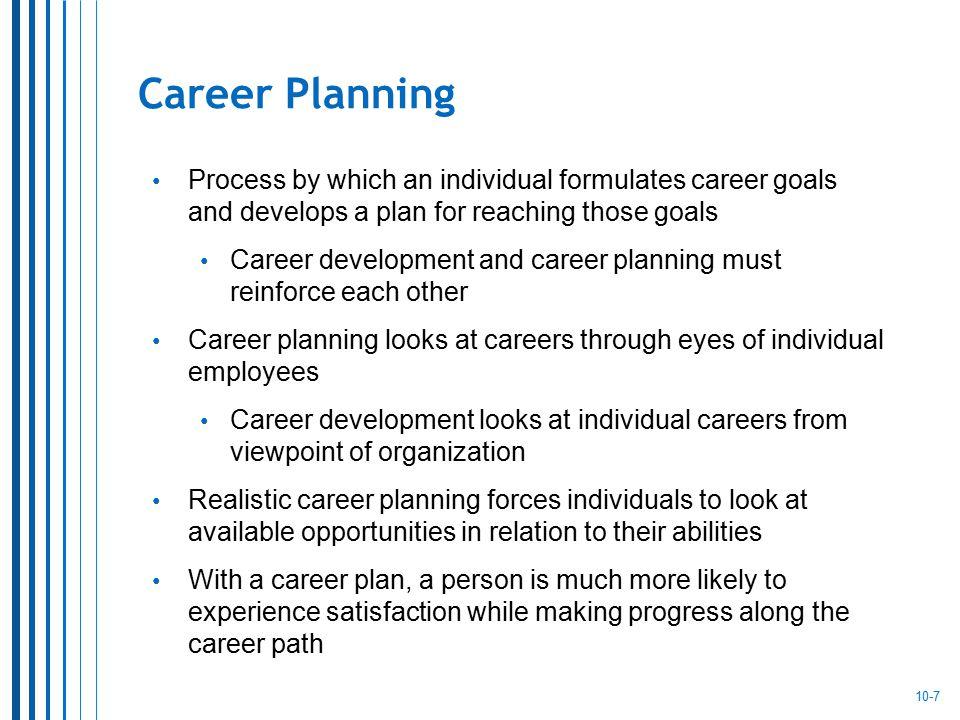 Career Development Chapter 10 Career Development Chapter ppt download - planning a career path