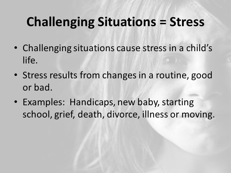 Challenging Situations - ppt video online download