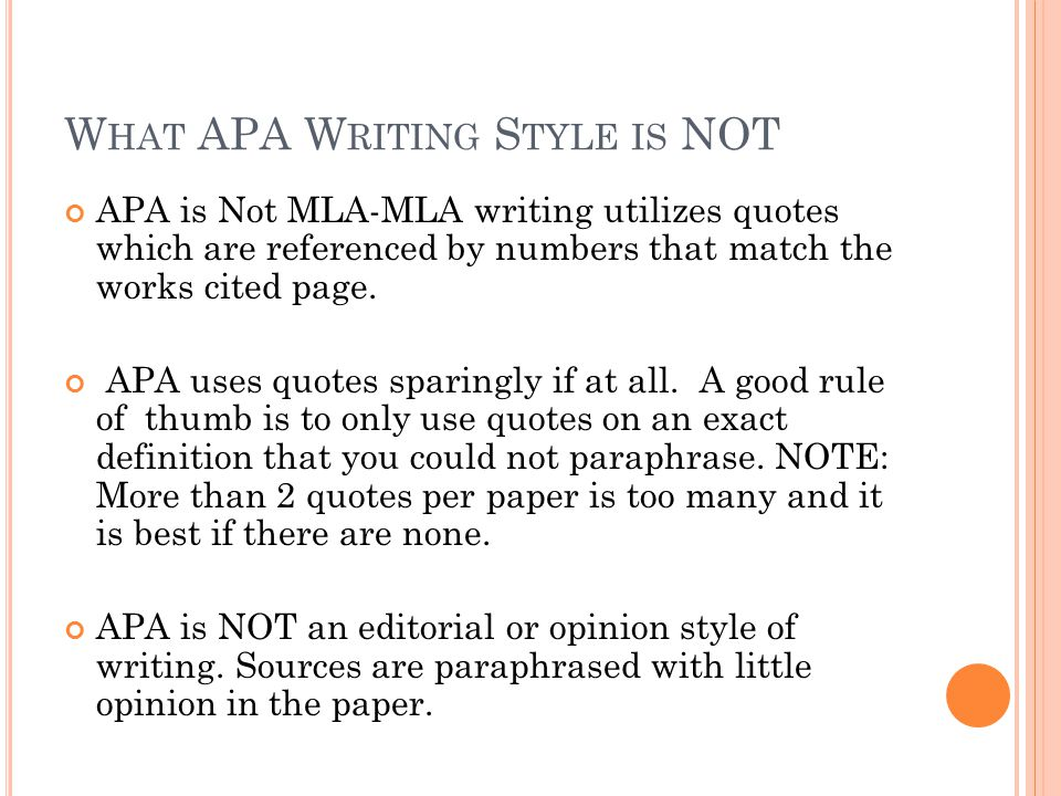 The Basics of APA Style Sixth Edition - ppt video online download