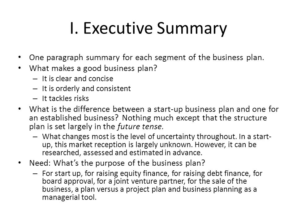 Writing a Business Plan - ppt download