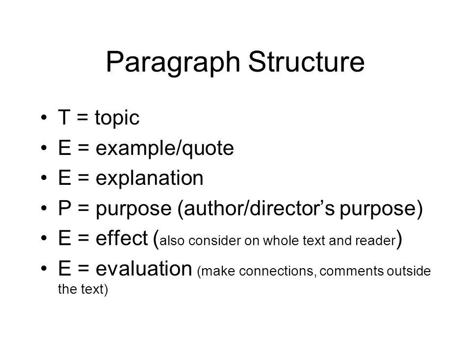 Structure Of A Four Paragraph Essay Mistyhamel