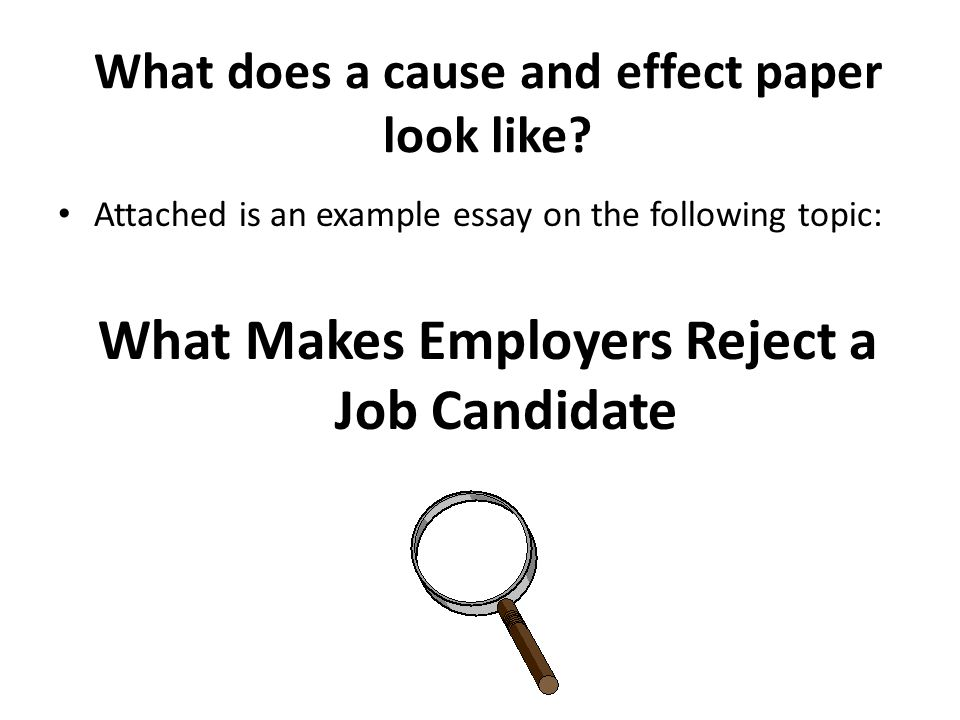 Sample cause and effect essay topics College paper Service