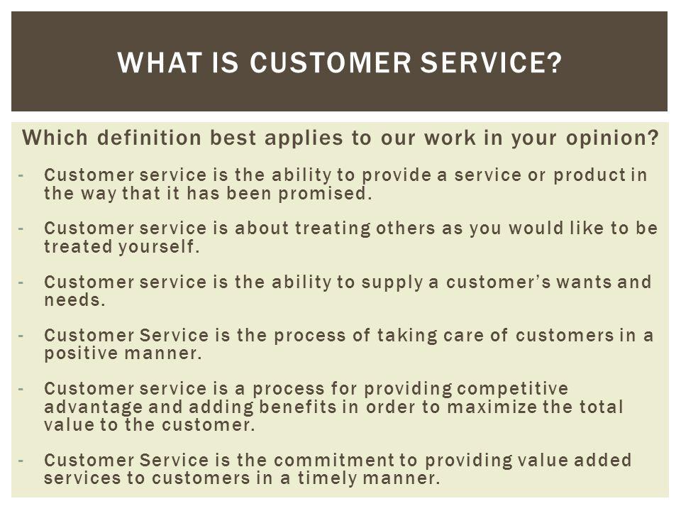 Customer service  Student Development A Balancing Act - ppt download