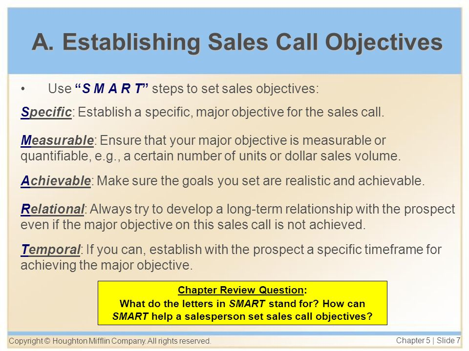 Planning the Sales Call Steps to a Successful Approach - ppt download