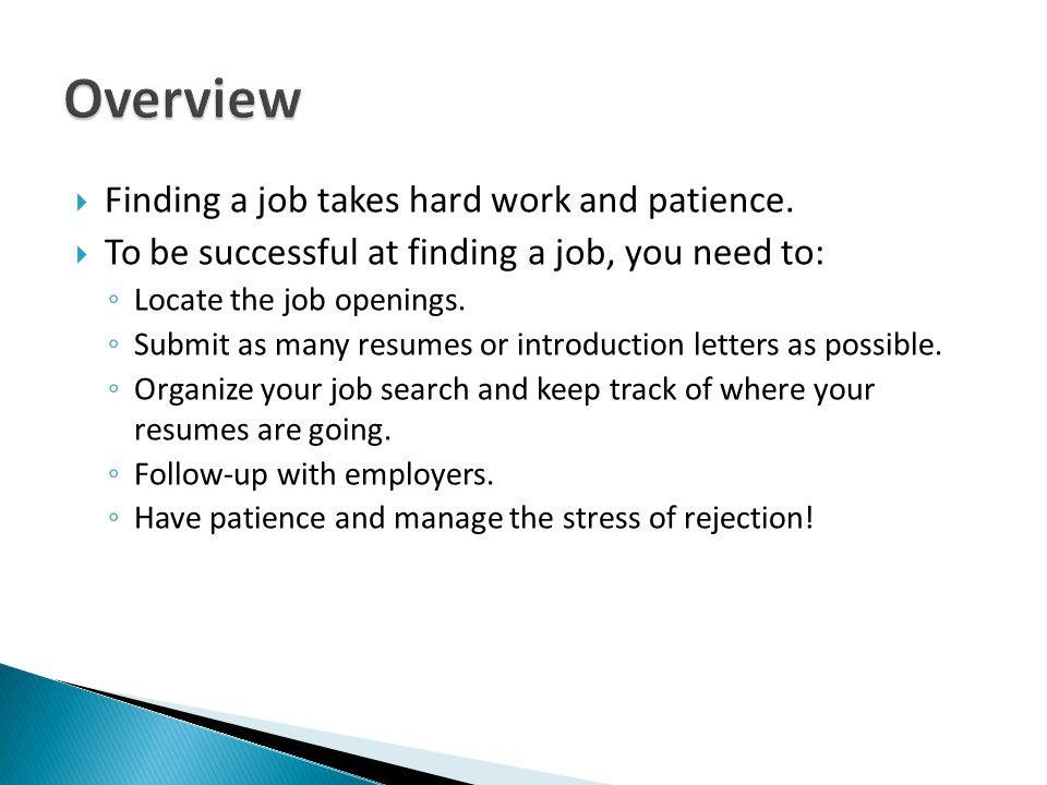 Job Search Workshop - ppt download