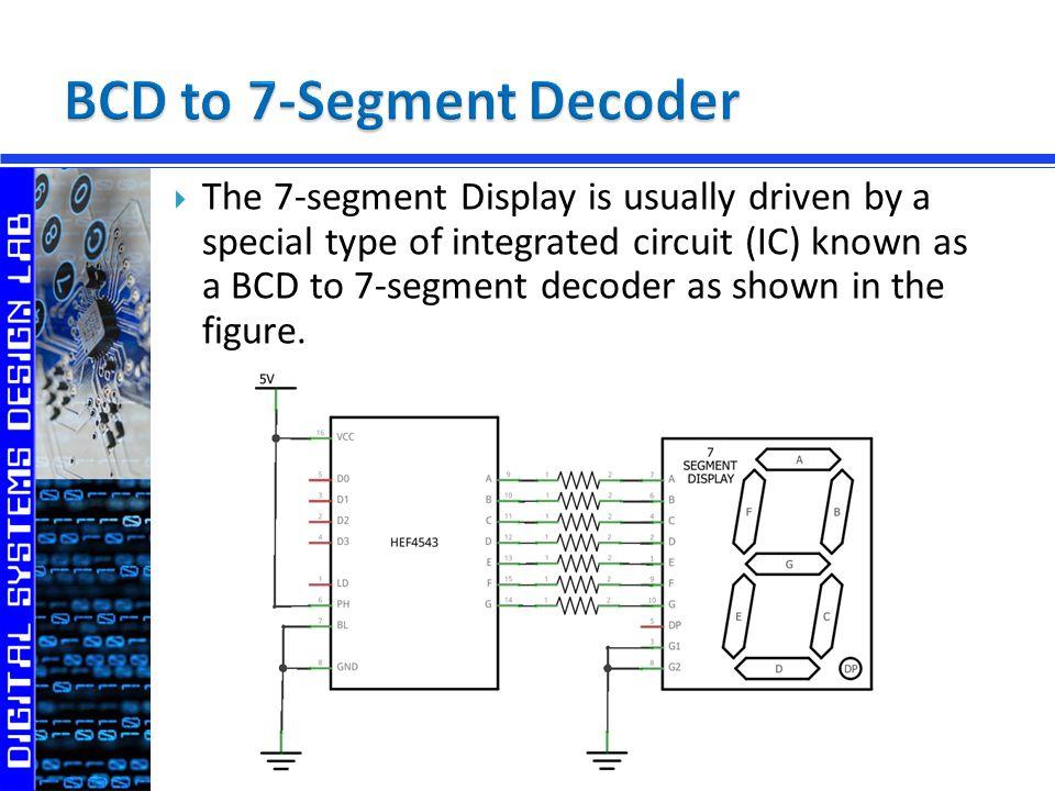 Digital Outputs 7-Segment Display - ppt video online download