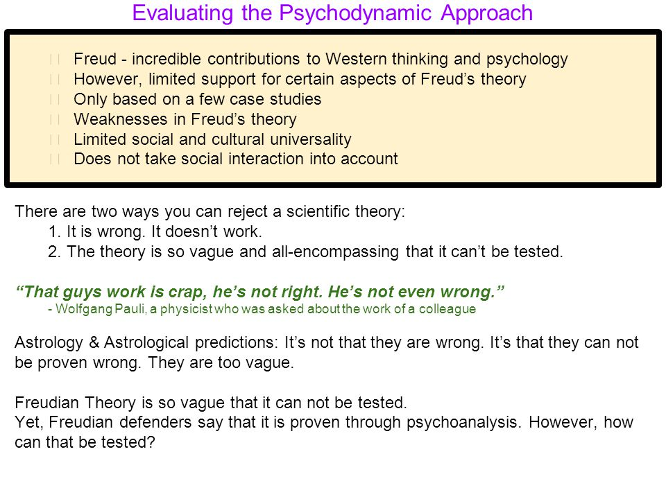 Psych - Unit 8- Freud  Psychodynamic Theory - ppt video online download
