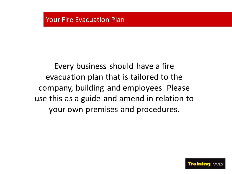 How to create A Fire Evacuation Plan - ppt video online download