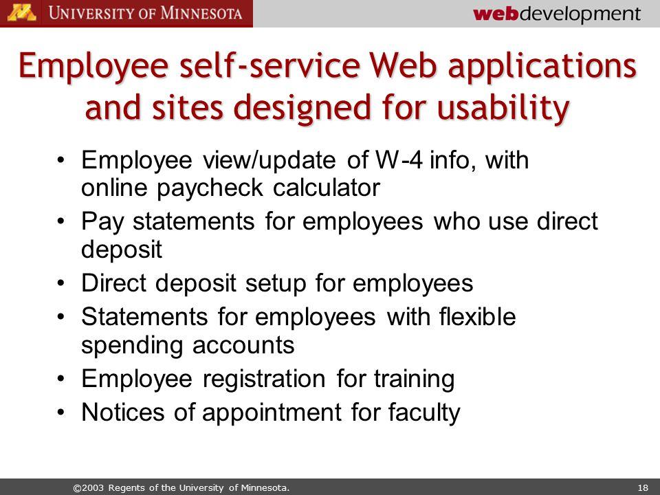 Web Usability Evaluation at the University of Minnesota - ppt video