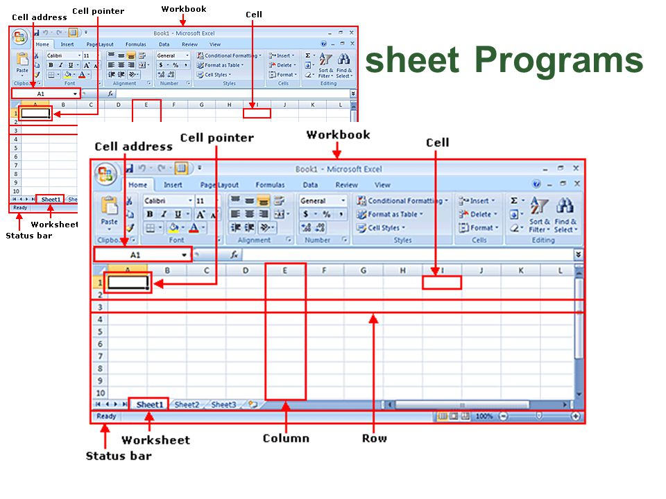 Microsoft Excel 2007 Introduction to Spreadsheet Programs - ppt download