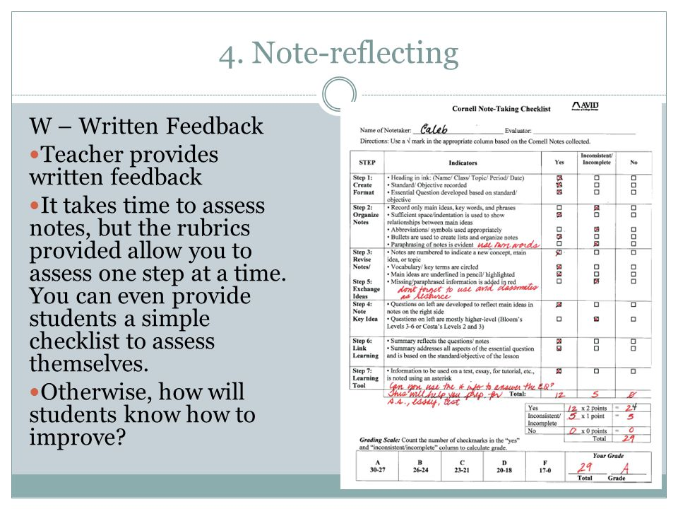 Structured Note-Taking For All Students - ppt video online download