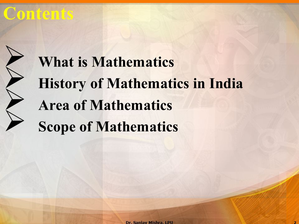 About Mathematics in India ppt video online download
