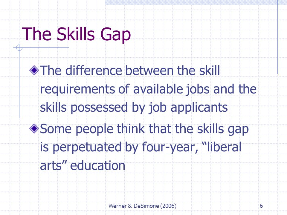 Skills and Technical Training - ppt download