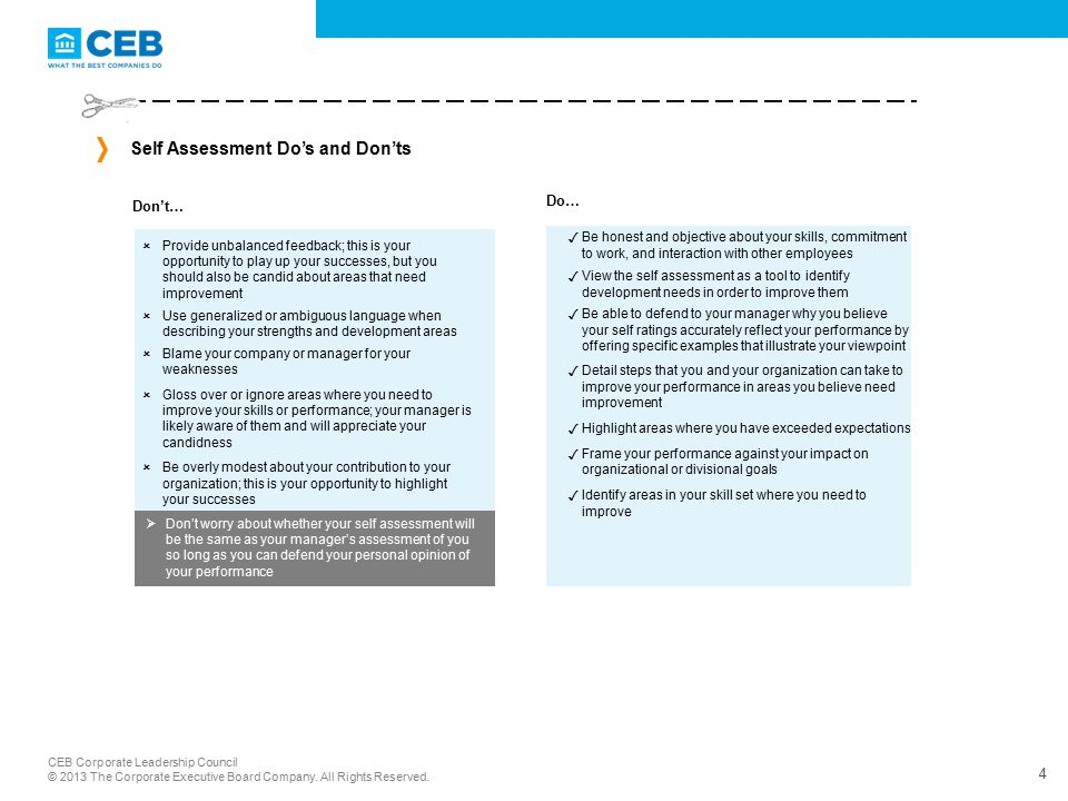 Employee Guide Self Assessing Your Performance - ppt video online