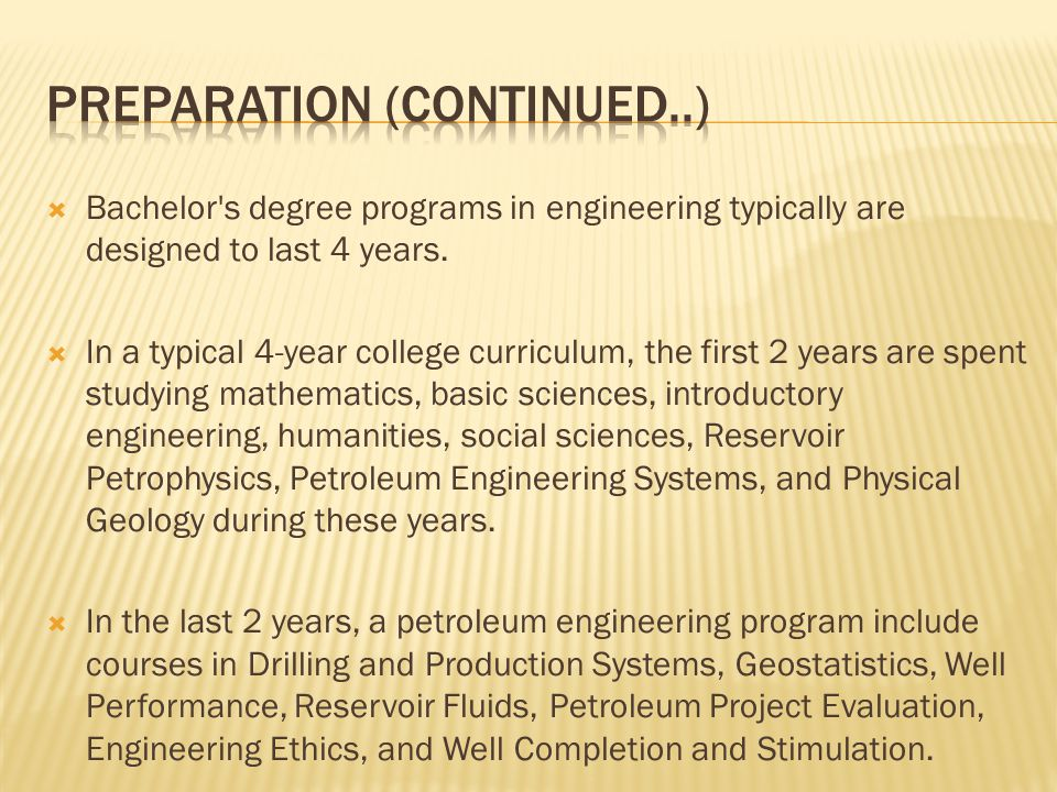 OVERVIEW OF PETROLEUM ENGINEERING - ppt video online download