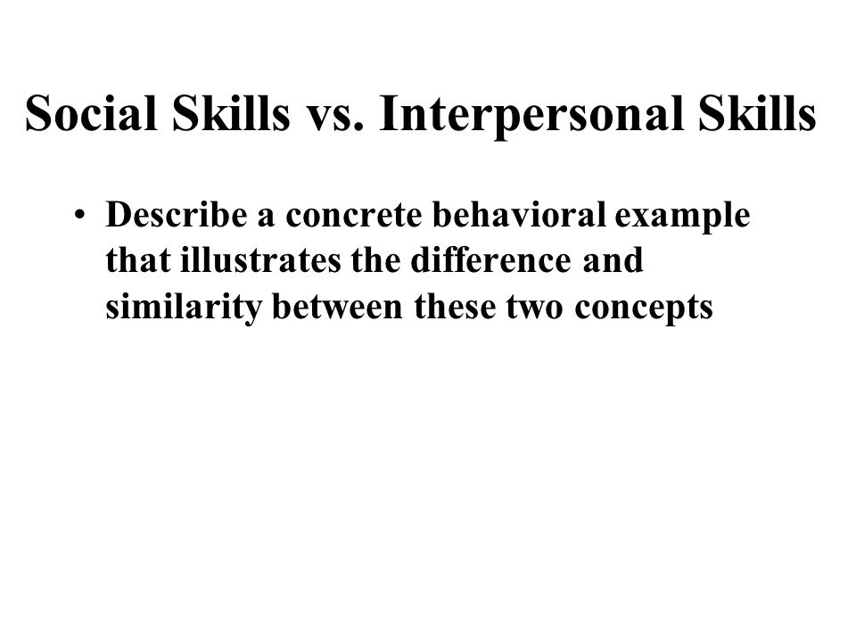 Examples of Interpersonal Skills List amp Definition 9219640 - interpersonal examples