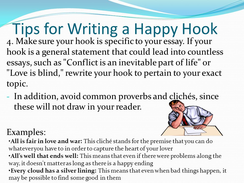 How to Develop a Hook for Essay Writing - ppt video online download
