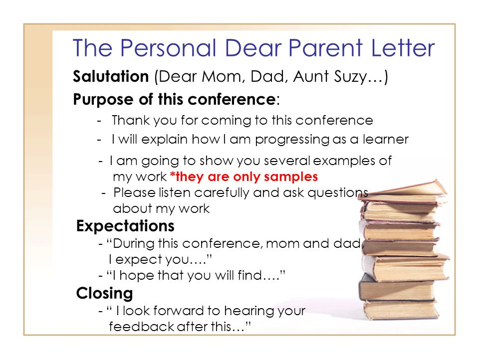 Student-Led Conferences - ppt download