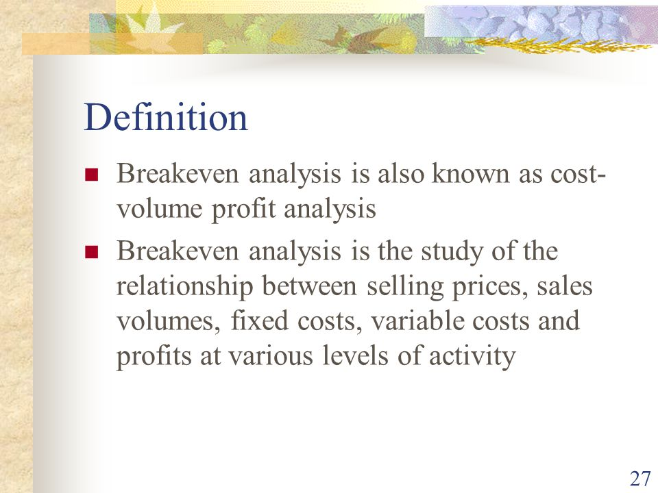 Absorption and marginal costing - ppt video online download