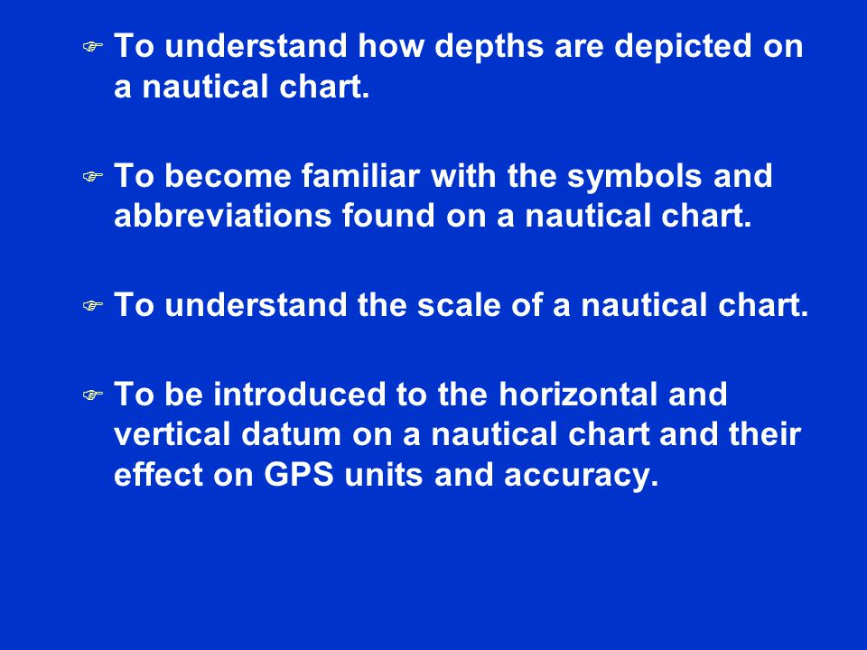 Session II Nautical Charts - ppt download