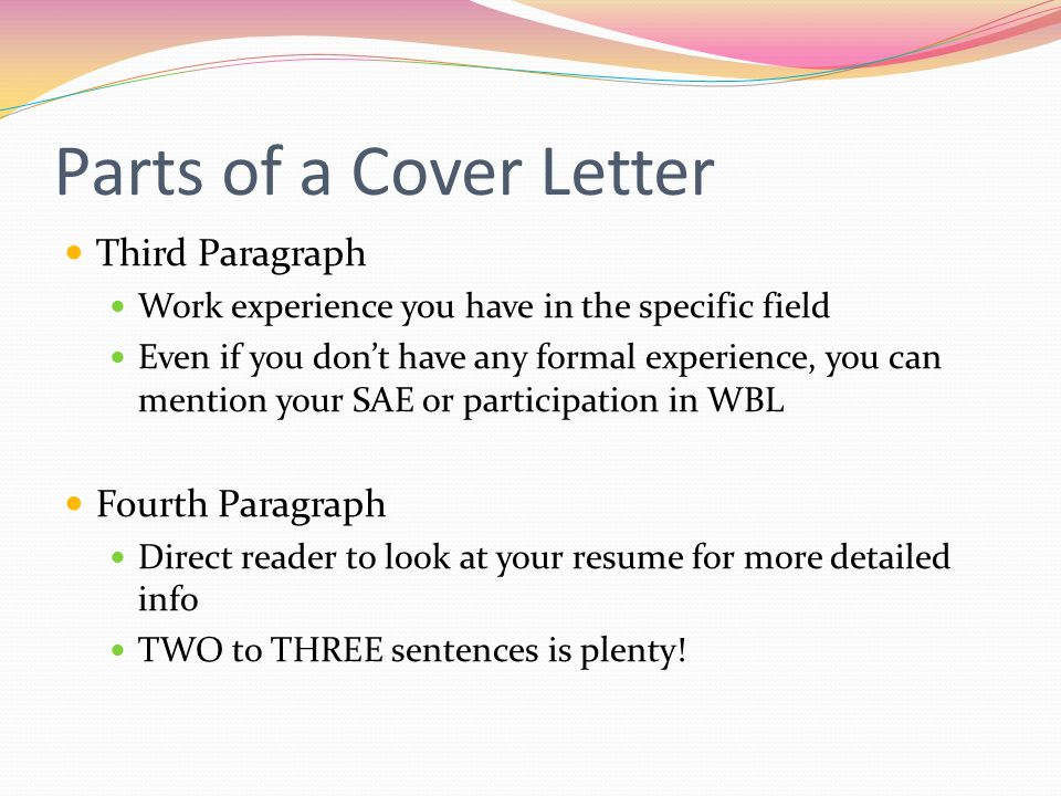 Creating a Resume  Cover Letter - ppt download