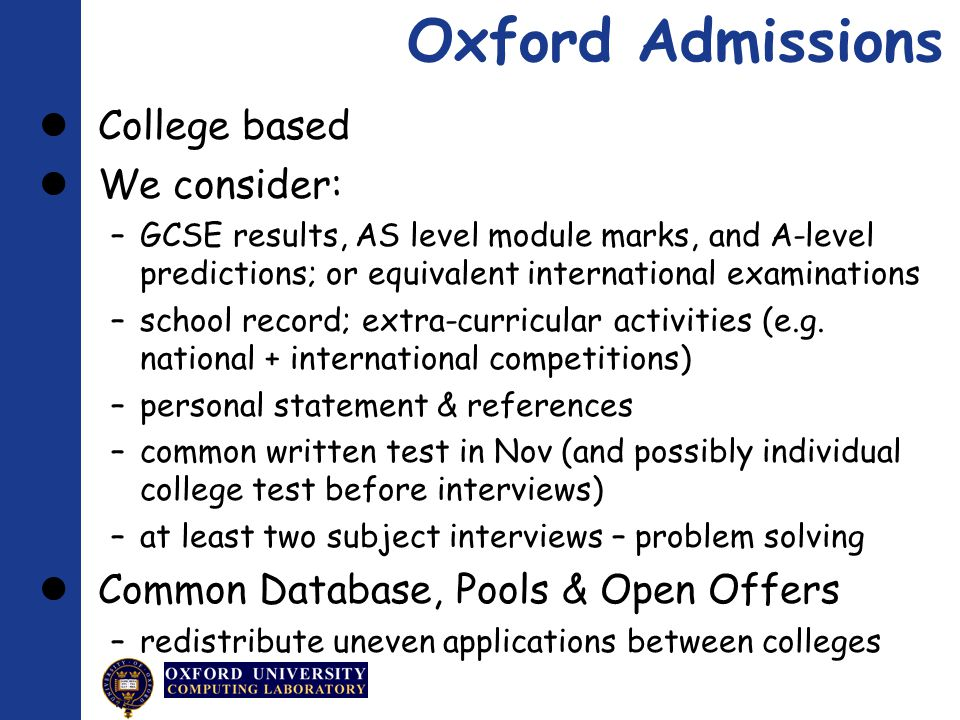 Computer science personal statement oxford Custom paper Academic Service - computer science personal statement
