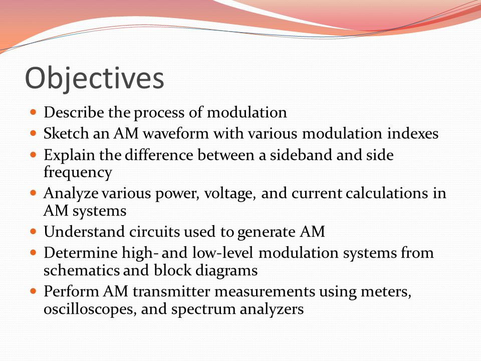 EE 350 / ECE 490 Analog Communication Systems - ppt video online