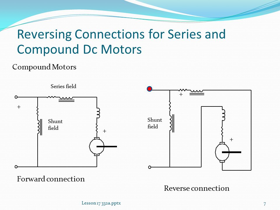 Lesson 17 Other Dc Motor Connections - ppt video online download