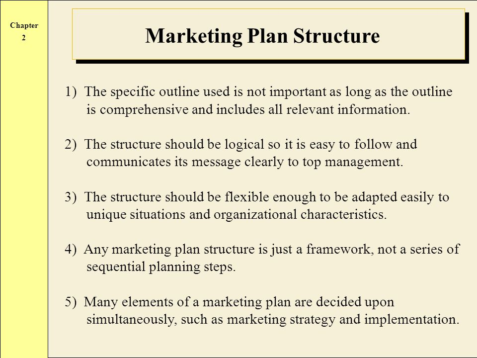 Developing the Marketing Plan - ppt video online download