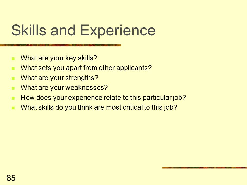 Job Search  Interview Skills - ppt download
