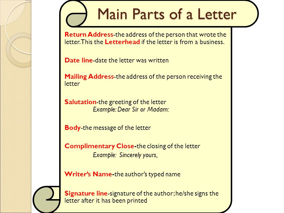 Objective 404 Apply correct letter formats - ppt video online download