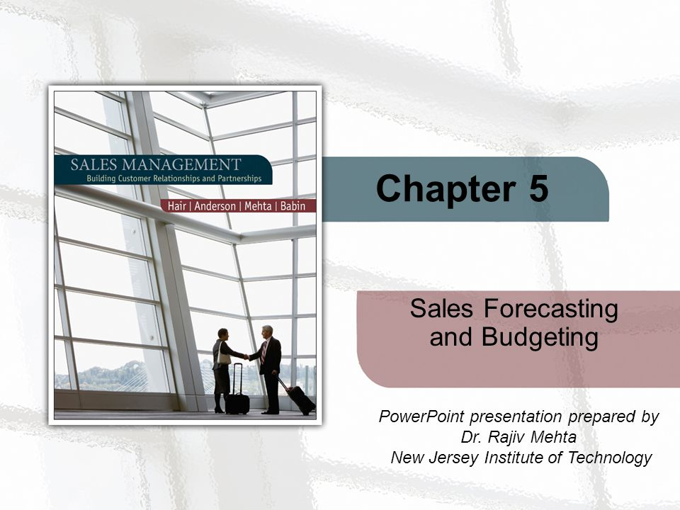 Sales Forecasting and Budgeting - ppt video online download