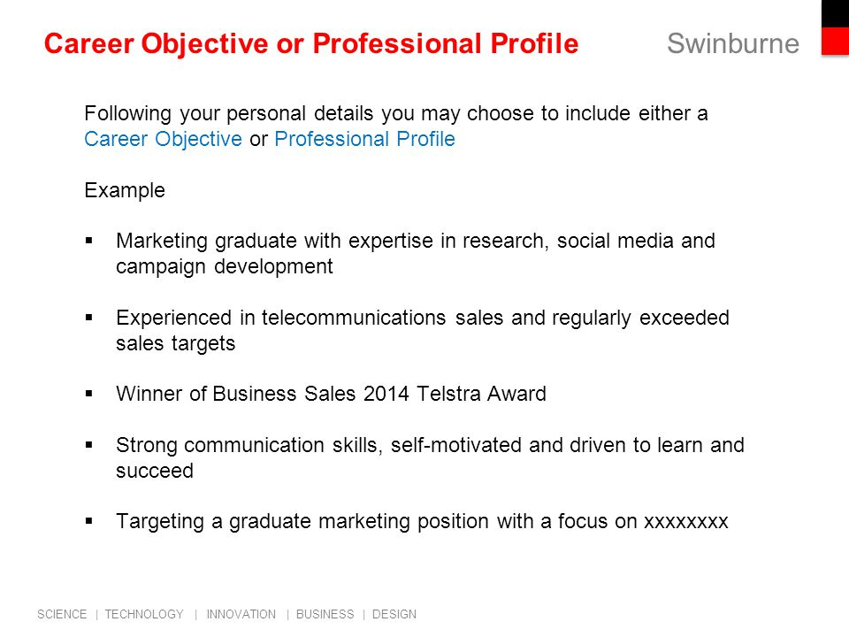 Employability Professional Career Start Strategies  Job Search