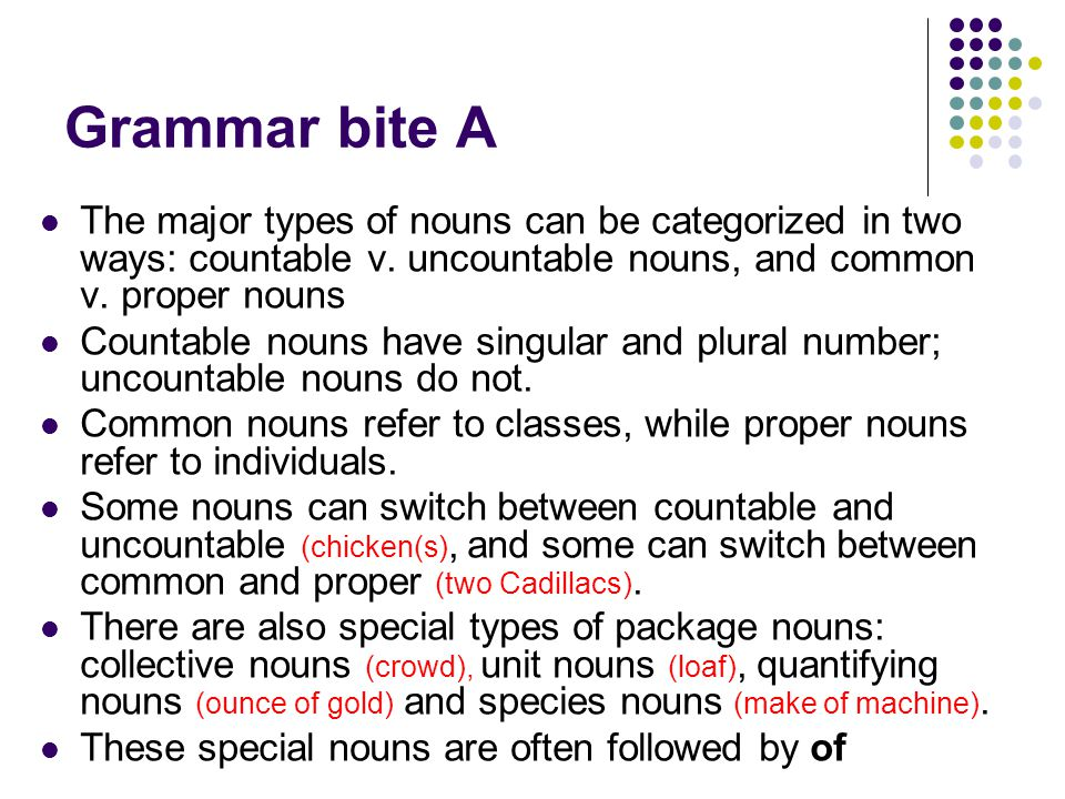 Nouns, pronouns, and the simple noun phrase preview - ppt download