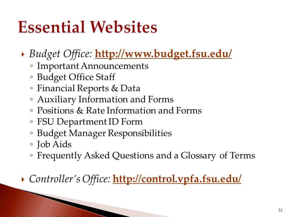 Managing a Budget Conducted by the Budget Office - ppt video online